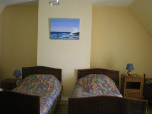Gîte Pellerin Pleucadeuc chambre 3 - Morbihan - Bretagne
