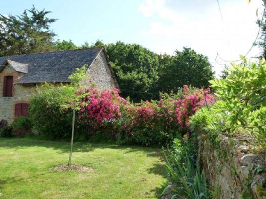 Gîte de Kerelec jardin - Pleucadeuc - Morbihan - Bretagne