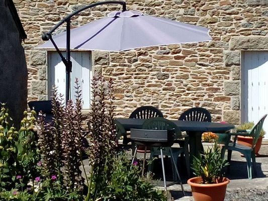 Gîte le Moulin de Caussac - Terrasse