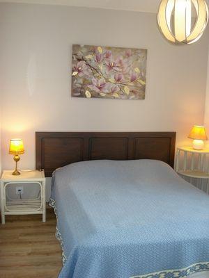 Gîte le Moulin de Caussac - chambre lit double