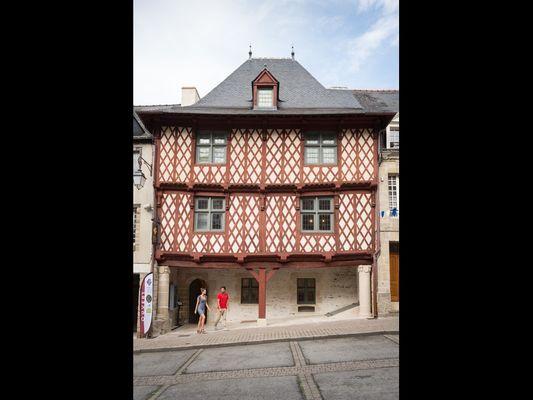 Maison des Porches - Josselin - Morbihan - Bretagne