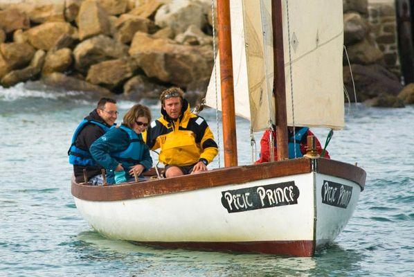 La Baie de Quiberon en voilier traditionnel