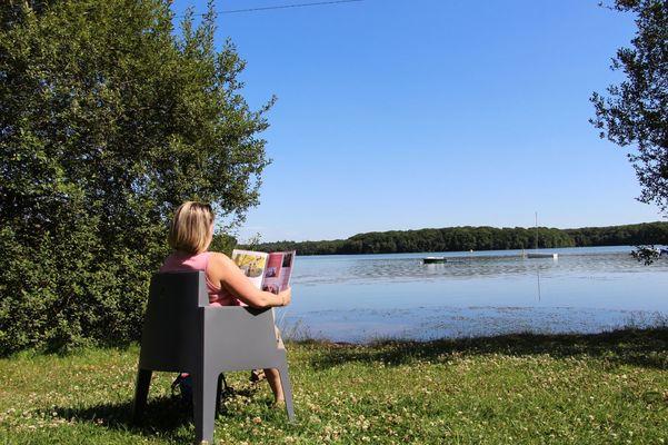 Lac de Trémelin Iffendic Brocéliande Bretagne accrobranche pédaleau ©office de tourisme Lac de Trémelin (12)
