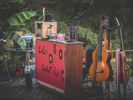Concert Lalo Chant'Age - Café de la Forge - Guillac - Morbihan - Bretagne