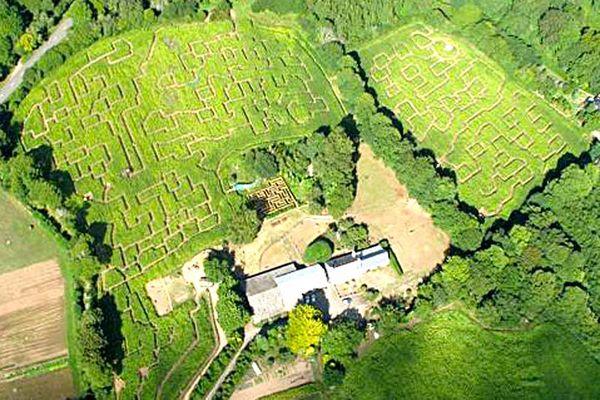 Le labyrinthe de Pont-Aven et sa mini ferme
