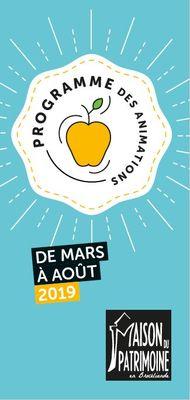 Programme-Maison-du-Patrimoine-mars-aout2019