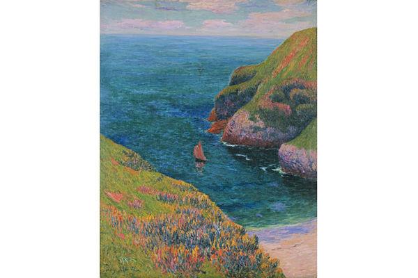 Henry MORET (1856-1913) - Goulphar, Belle-Ile