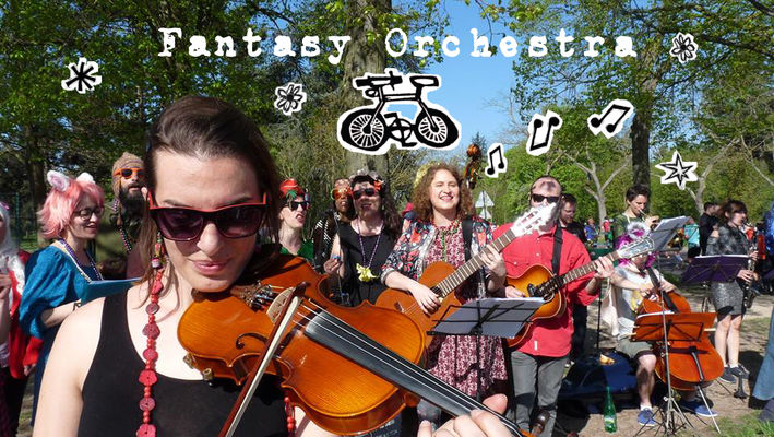 The Fantasy Orchestra Magical Bicycle Tour