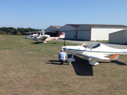Ulm de Brocéliande - aérodrome - Loyat - Bretagne