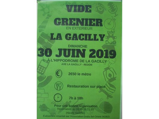 Vide-grenier-La Gacilly Destination Brocéliande