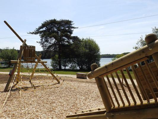 Aire de jeux Lac de Trémelin Iffendic