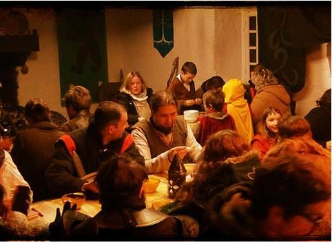 camp du dragon repas auberge
