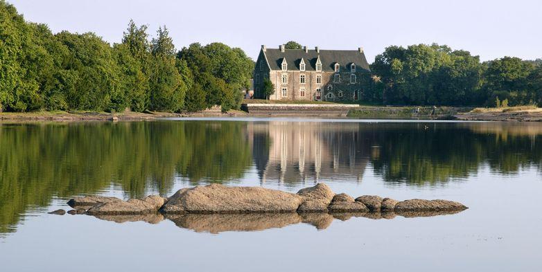 château de Comper - Concoret - Brocéliande