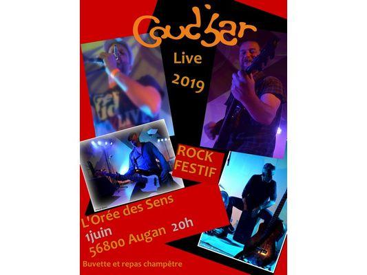 Concert Coud'bar à l'Orée des Sens à Augan Brocéliande