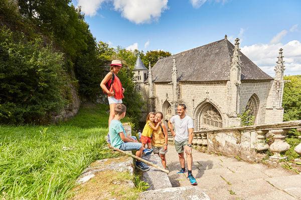 Guémené-sur-Scorff et Le Faouët