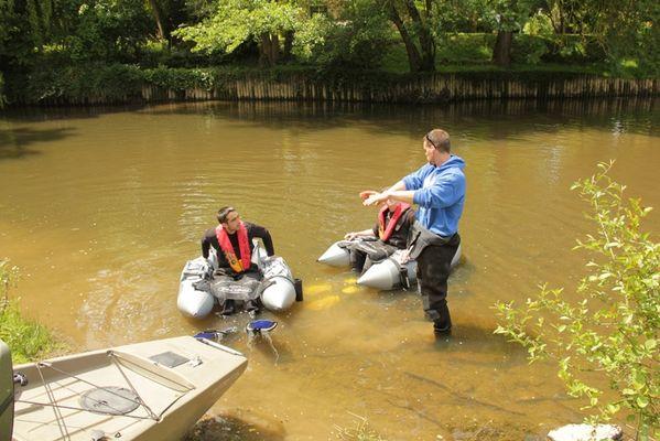 découvrir la pêche en float tube
