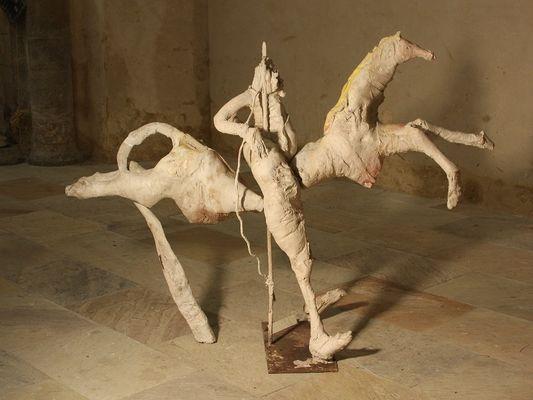 exposition - peinture - dessin sculpture - De Laborderie - Ploërmel