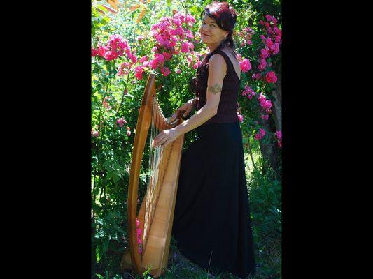 Concert-harpe-celtique-Tréhorenteuc-Brocéliande-Bretagne
