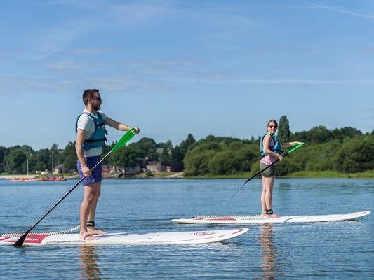 Club nautique - paddle -lac au Duc - Taupont - Brocéliande - Bretagne