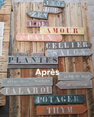 Atelier création panneaux indicateurs - Guilvinec - Pays Bigouden