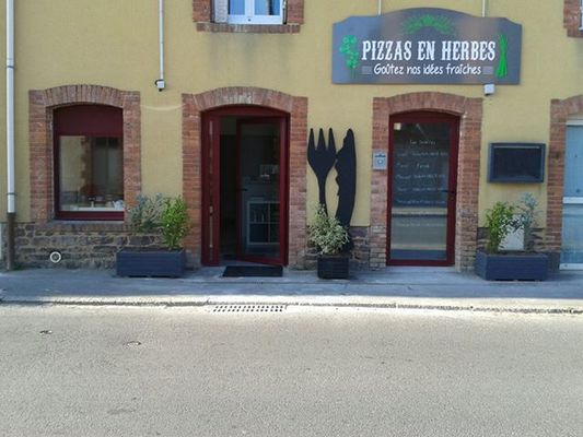 restaurant Pizza en herbes