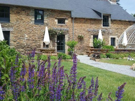 salon-de-thé - Pépinière du Haut Bois - Taupont - Morbihan