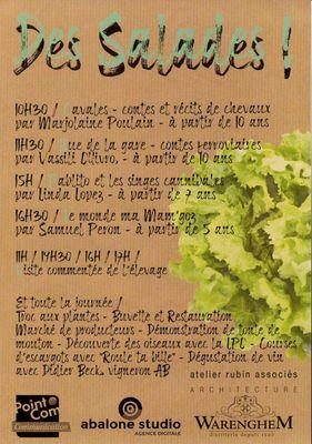 Chapeau l'Escargot - Des Salades