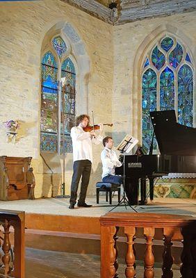 Chapelle de Kersaint - concert Fauré 2018