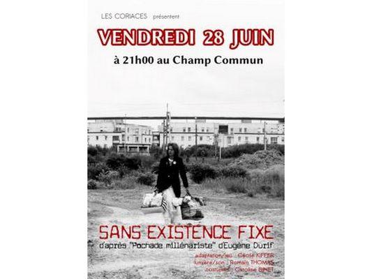 Spectacle Les Coriaces Le Champ commun Augan Brocéliande