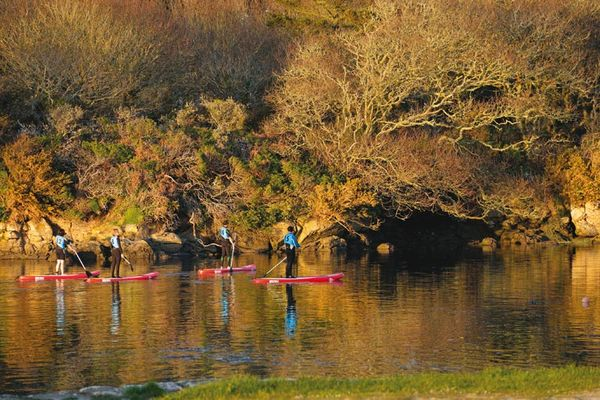 Les abers en stand up paddle