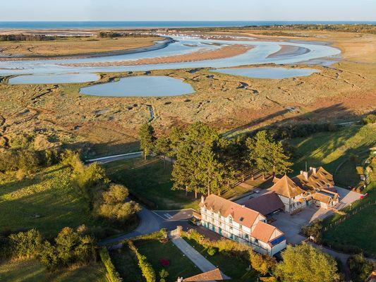 Maison de nature estuaire de l'Orne Michel Dehaye