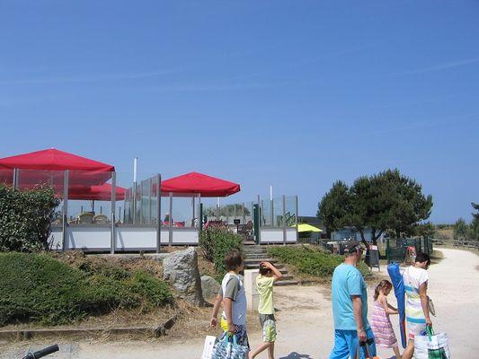 Bar de la plage Merville-Franceville-Plage