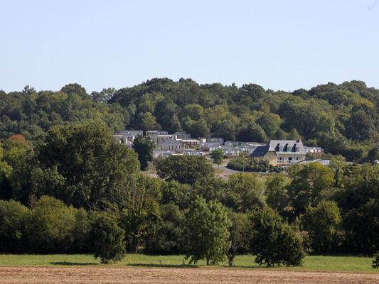 Camping Bois et Marais à Touffreville - vue générale