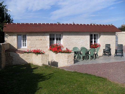 Chez Daniel et Véronique terrasse - jardin