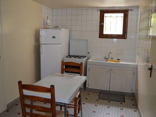 Chez Mme Ragot - la cuisine