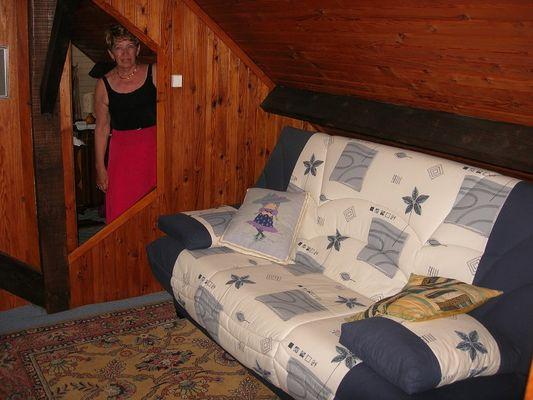 Chez Mado espace salon Merville-Franceville-Plage