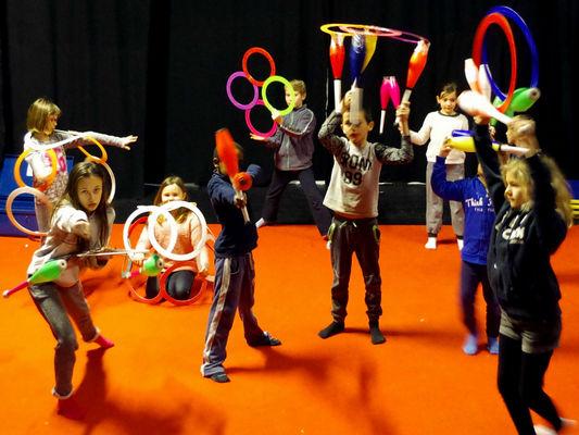 Stage théâtre, clown et cirque