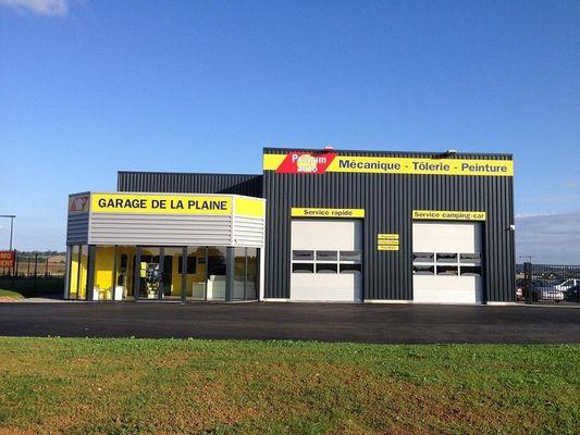 Garage de la plaine Zac des capucines Ranville