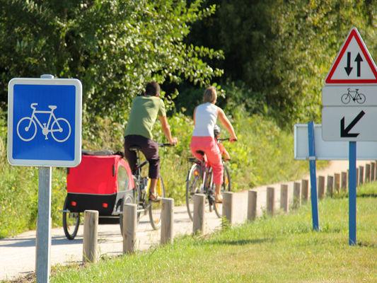 Randonnée vélo dans le Calvados