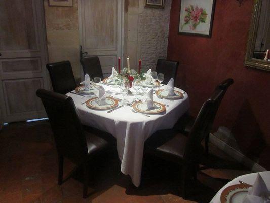 Restaurant Table de Manon Ranville jolie table