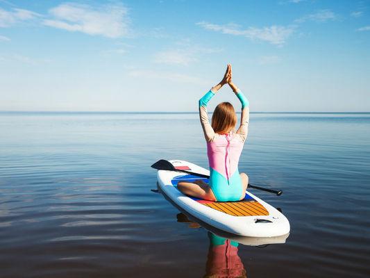 Pilates sur paddle