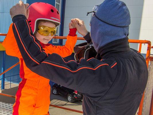 AirFly - Préparation vol d'un enfant