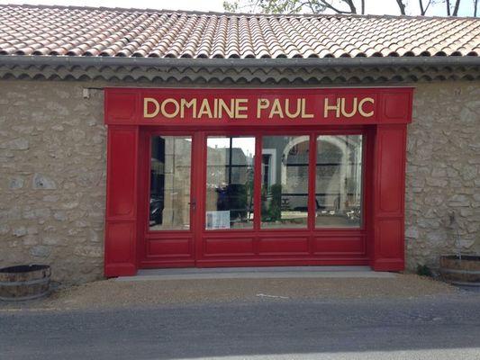 CAVEAU BOUTIQUE DOMAINE PAUL HUC - FABREZAN