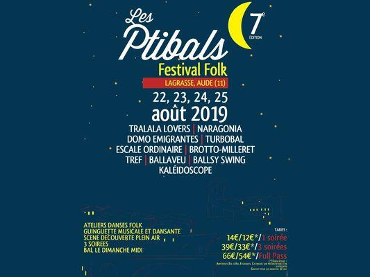 FESTIVAL 2019 - LES PTIBALS