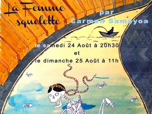 SPECTACLE - LA FEMME SQUELETTE