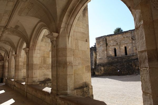 La galerie de l'ancien cloître