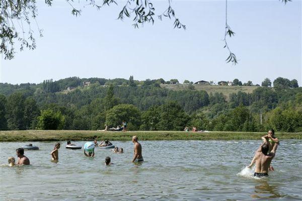 Camping le Lac_baignade