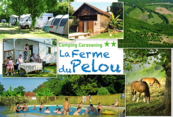 Camping la ferme du pelou 2018