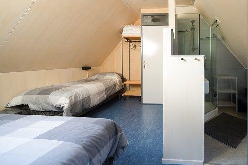 Chambre lit simple redim le Noyer