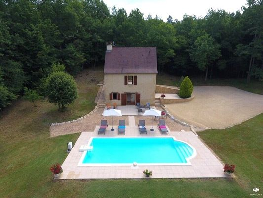 FONCHAVE - piscine privée - isolée - vallée vézère - lascaux